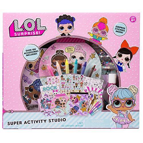 LOL Surprise Colouring Set and Stickers Kids Fun Birthday Bundle Art
