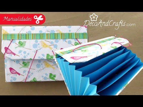 Organiza tus cosas Fácil - Archivero DIY   Craftingeek* - YouTube