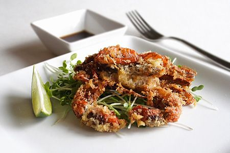 Soft shell crab, Crabs and Shells on Pinterest