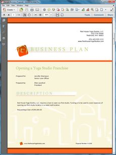 A Sample eCommerce Business Plan Template