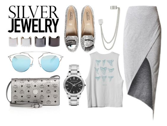 """SilverLining"" by doraki ❤ liked on Polyvore"