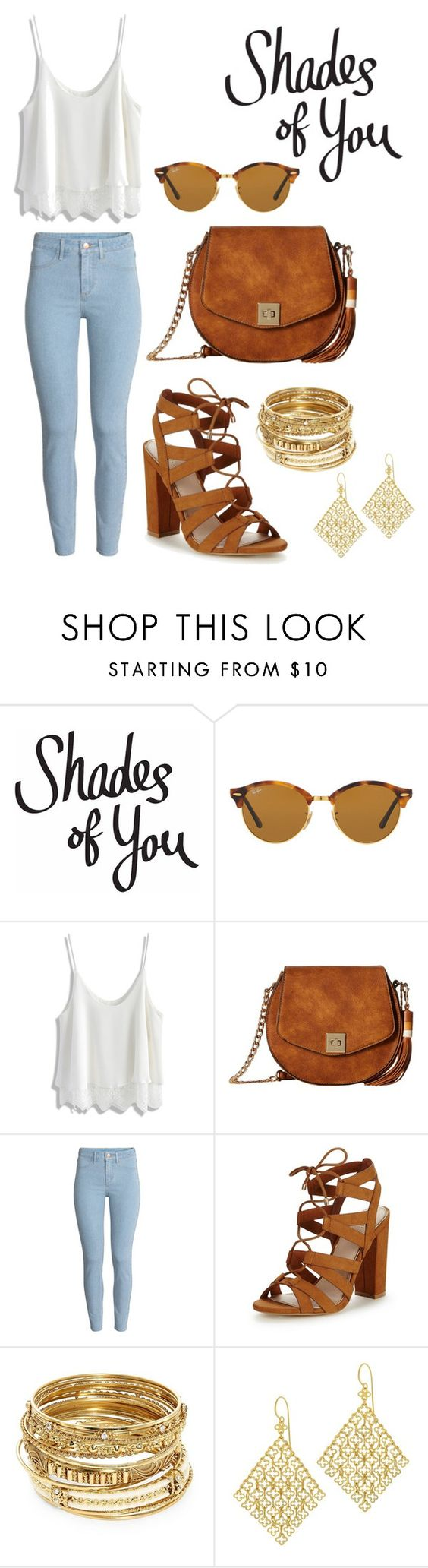 """Shades of You: Sunglass Hut Contest Entry"" by silkeselina ❤ liked on Polyvore featuring Ray-Ban, Chicwish, Gabriella Rocha, H&M, Lipsy, ABS by Allen Schwartz, Dinny Hall and shadesofyou"