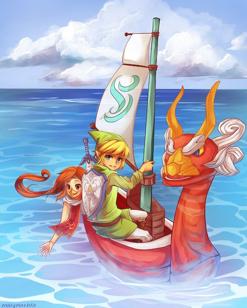 mysticalflyte:  Guess who finally hopped on the LoZ bandwagon after watching a Wind Waker walkthrough ._.