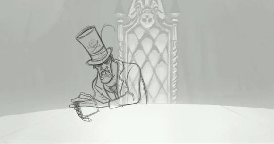 Animation of Dr. Facilier by Bruce W. Smith.  One of the best characters in Princess and the Frog.