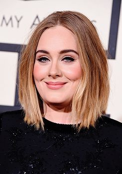 "krystenrittrer: "" ""Adele attends The 58th GRAMMY Awards at Staples Center on February 15, 2016 in Los Angeles, California. "" """