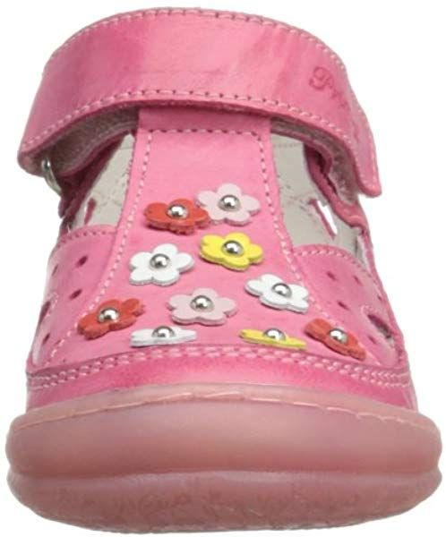 conjunción Esperanzado Descubrimiento  Primigi Girls Naiara T-Bar 1146077 Strawberry 7 UK Child, 24 EU: Amazon.co. uk: Shoes & Bags   Kids shoes, Shoes, Sandals