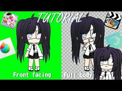 Gacha Life Front Facing Full Body Tweening Tutorial Youtube In 2020 Cute Anime Character Cute Drawings Drawing Body Poses