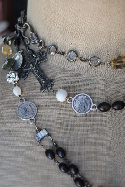 """Christine Wallace... """"Honoring Life Through Jewelry"""": An Exquisite French Wrap..."""