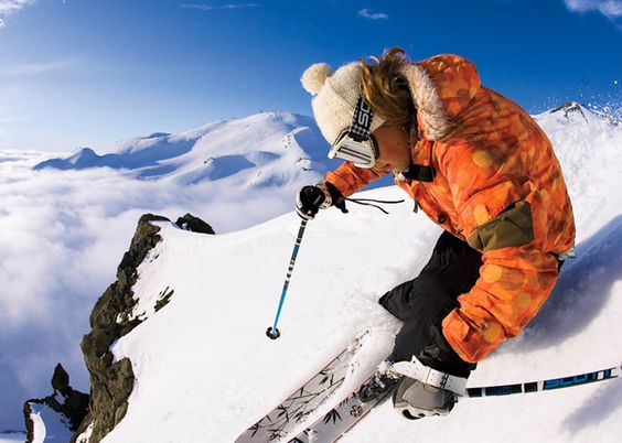 Ski the Andes Mountains in Chile. - http://bit.ly/zzrmQa