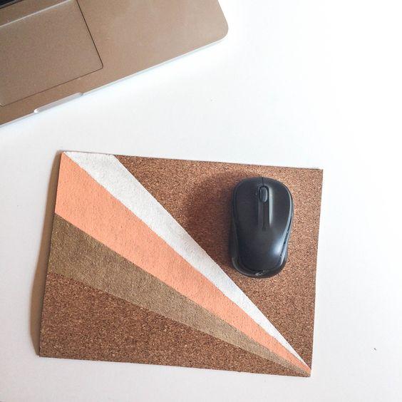 DIY - Mousepad | DIY - Tapis de souris - PROJET PASTEL