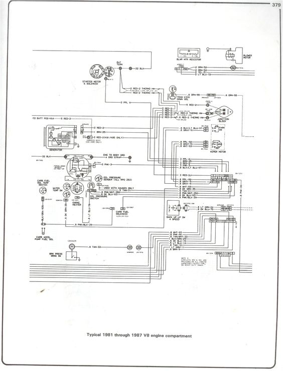 85 4 3 chevy engine diagram