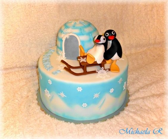Pingu Cake Ideas