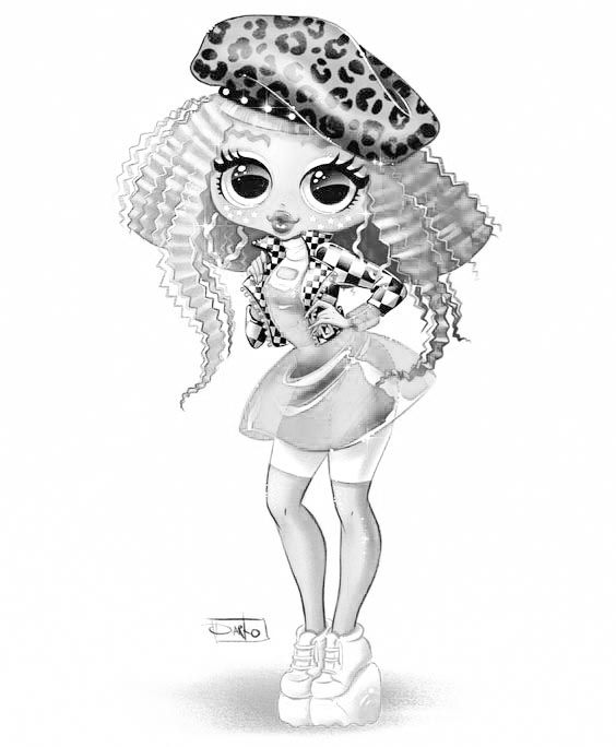 Pin By Svetlana Vald On Novye Lol Lol Raskraska 5 Seriya 6 Seriya 7 Seriya Lol Dolls Fashion Coloring Book Cartoon Art