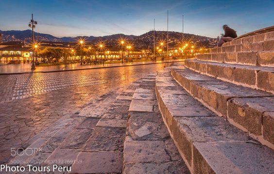 The Main Plaza of Cusco by flaviointi22. @go4fotos