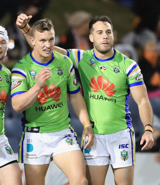 Jack Wighton Photos Photos Nrl Rd 15 Tigers Vs Raiders Rugby Men Rugby Players Nrl