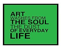 Quadro Decorativo Motivational Green - 33x42cm