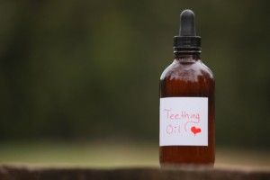 Homemade teething oil... havent tried yet but it has good reports.