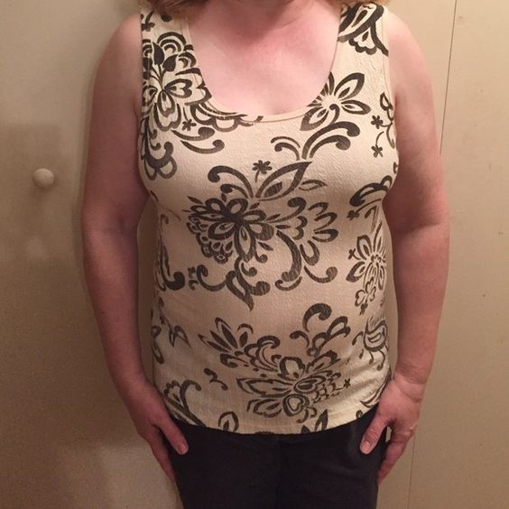 Style and Co Shirt Cotton-Spandex tee. Worn a few times but still in good condition! Style & Co Tops Tank Tops