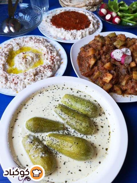 محشي كوسا بلبن بالصور من إيفالونا سورية Recipe Food French Toast Breakfast