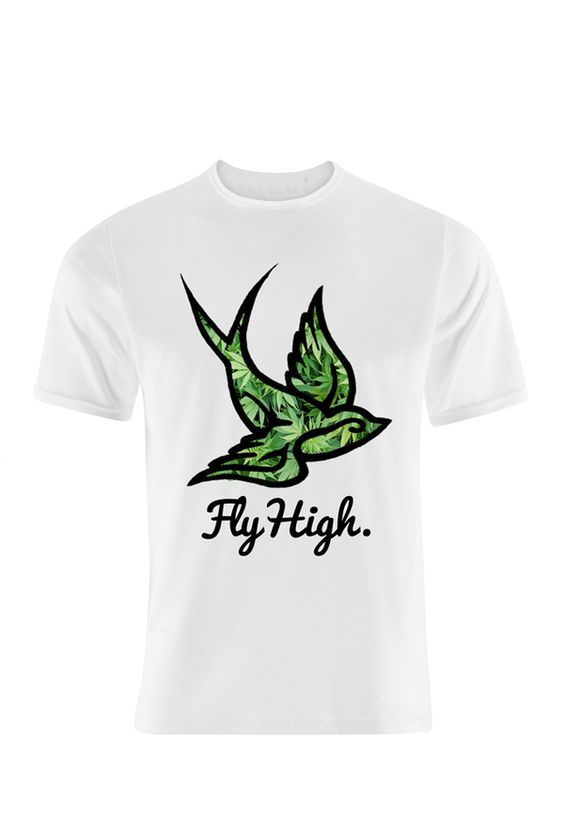 Fly High Tee - Maziak Clothing | My Style | Pinterest | Ganja, Buy ...
