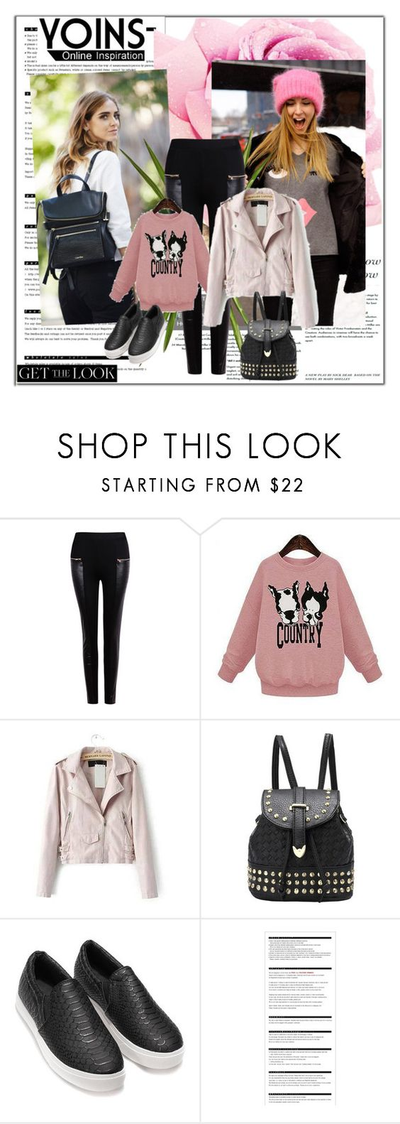 """""""YOINS (19)"""" by albinnaflower ❤ liked on Polyvore featuring Arche, OKA, MustHave, autumn, fall2015 and yoins"""