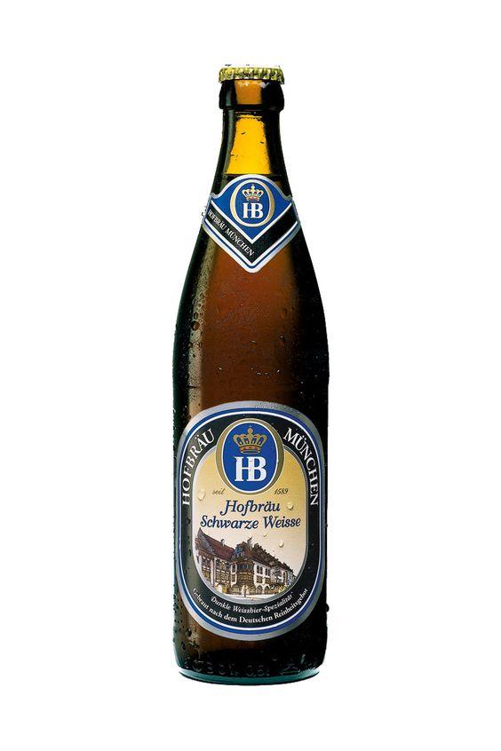 Bia Hofbrau Munchen Hofbrau Schwarze Weisse 5,1% - Chai 500ml