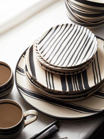Wythe Striped Platter