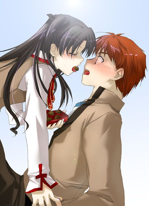 Emiya Shirou and Tohsaka Rin - Fate/Stay Night