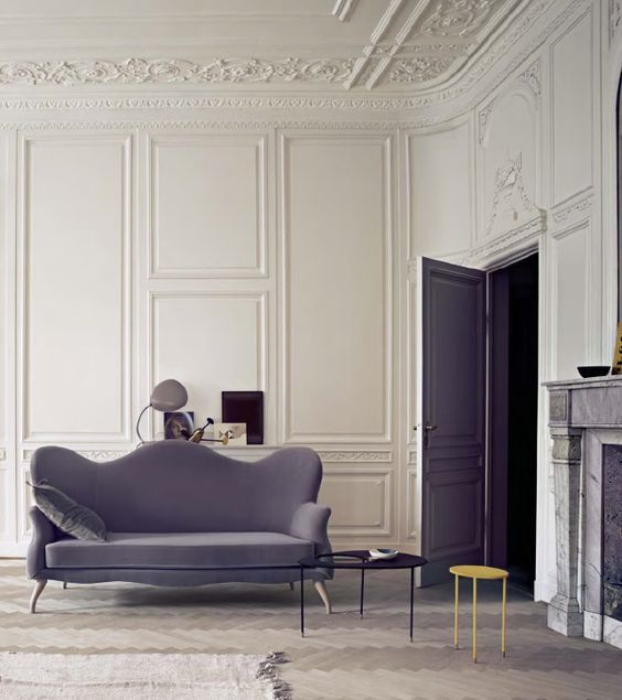 Traditional Scandinavian Living Room Classic Interior