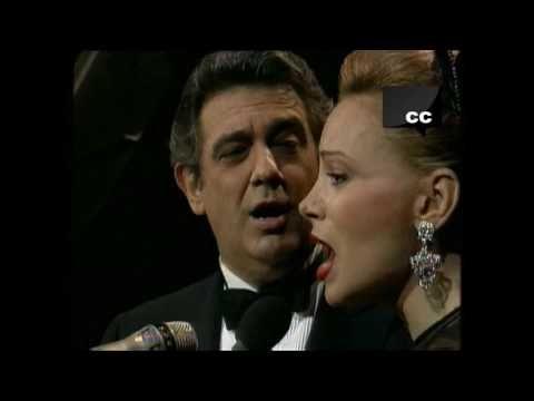 Placido Domingo Y Paloma San Basilio Juntos Por Fin Hd Together Last At 1991 Youtube Placido Domingo Cantantes Españoles Musica Variada