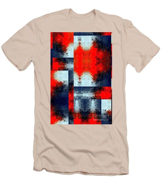 Men's T-Shirt (Slim Fit) - Abstract 473
