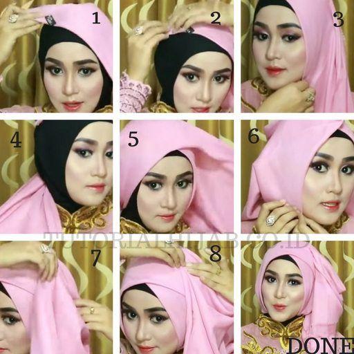 Gambar Video Tutorial Hijab Untuk Kartinian Simple Dan Cantik