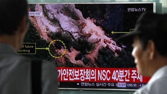Coreia do Norte pronta para outro teste nuclear