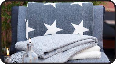Woondeken Stars grijs.