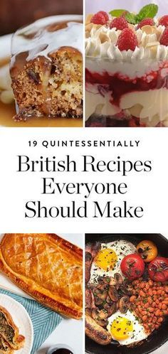 19 Quintessentially British Recipes Everyone on Earth Should Know How to Make