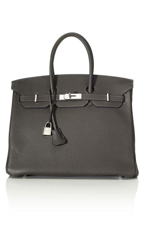 Heritage Auctions Vintage Hermes Graphite Birkin  Le top des sacs...