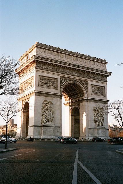25 Amazing Photo Arc de Triomphe, Paris