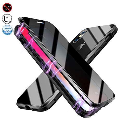 Coque Magnétique Anti espion Compatible avec IPhone 7 plus/8 plus ...