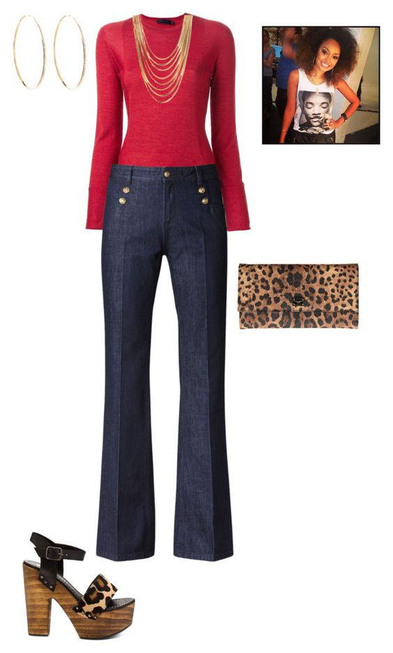 """""""#70s Vibe"""" by jessjanuary ❤ liked on Polyvore featuring Rough Justice, Calvin Klein Collection, Gérard Darel, Dolce&Gabbana, Forever 21 and Lana"""