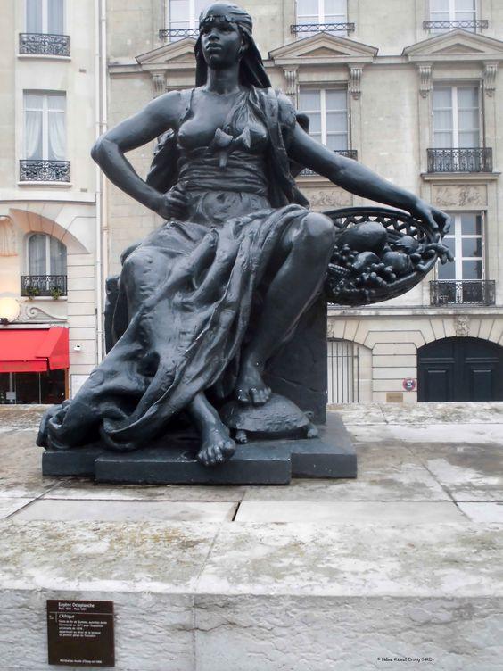 """""""L'Afrique"""" de Eugène Delaplanche_Musée d'Orsay_Paris (France)_2014-05-08 © Hélène Ricaud-Droisy (HRD)"""