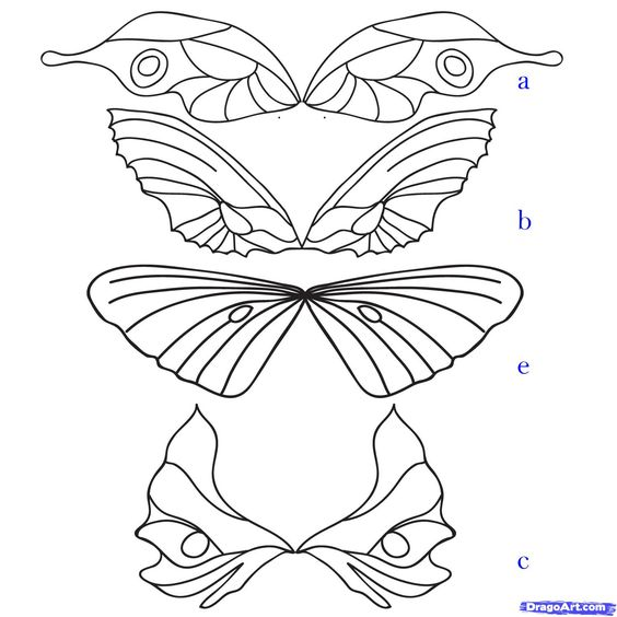 drawing fairy wings - use for shrink art?: