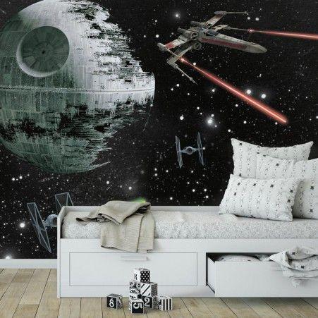 Star Wars Vehicles Xl Wallpaper Mural 10 5 X 6 Star Wars Bedroom Star Wars Room Peel Stick Wallpaper