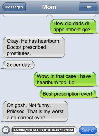 funny auto-correct texts - 10 More Hilarious Autocorrect Fails From Mom and Dad