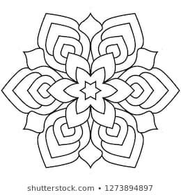 Einfaches Mandala Mandalafarbmuster Fur Entspannung Cajas En Puntillismo Cajas Disegno Di Mandala Disegni Di Mandala Da Colorare Disegni Da Colorare