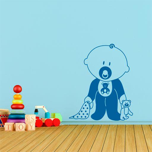 bonito vinilo decorativo infantil ideal para decorar las paredes de la habitacin de los ms
