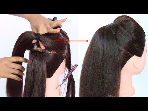 New Trick For Volumized Ponytail With Puff Prom Hairstyles Cute Hairstyles Hair Style Girl Yout Cute Prom Hairstyles Short Hair Ponytail Hair Styles