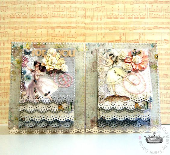 Project w010 double waterfall card haus of w tutorials for Waterfall design in scrapbook