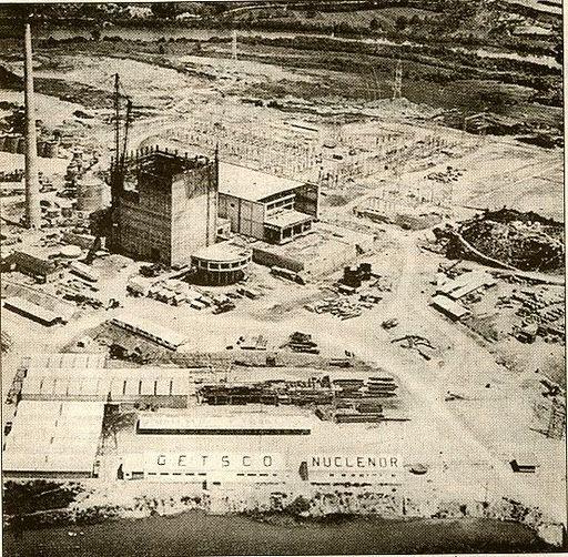Central de Sª Mª de Garoña 1969