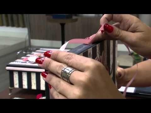 Mulher.com 27/02/2015 Marisa Magalhães - Caixa com scrapdecor Parte 2/2 - YouTube