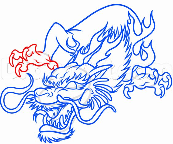 Dragon Claw Japanese dragon drawings chinese dragon claw drawing ...